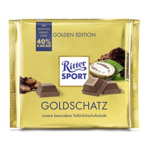 Ritter Sport Goldschatz 250 g