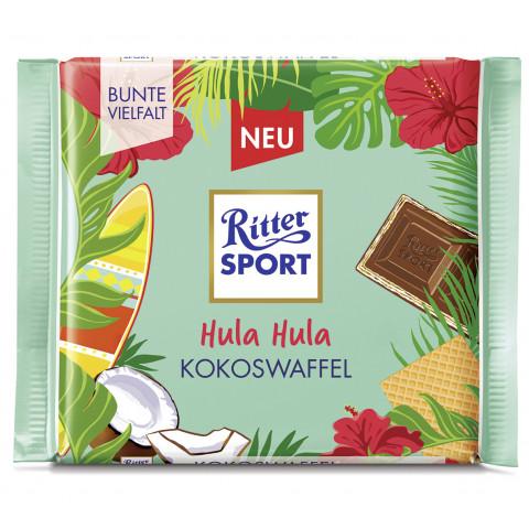 Ritter Sport Hula Hula Kokoswaffel 100G