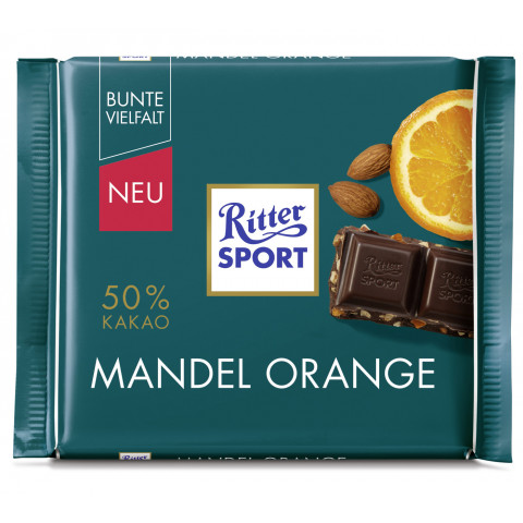 Ritter Sport Mandel Orange 100 g