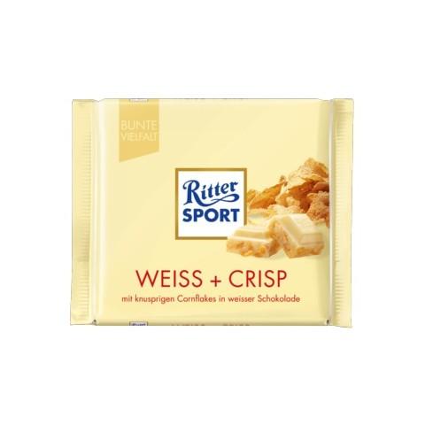 Ritter Sport Weiss und Crisp 100 g