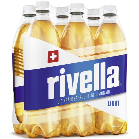 Rivella Light in PET Sixpack