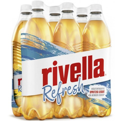 Rivella Refresh in PET Sixpack