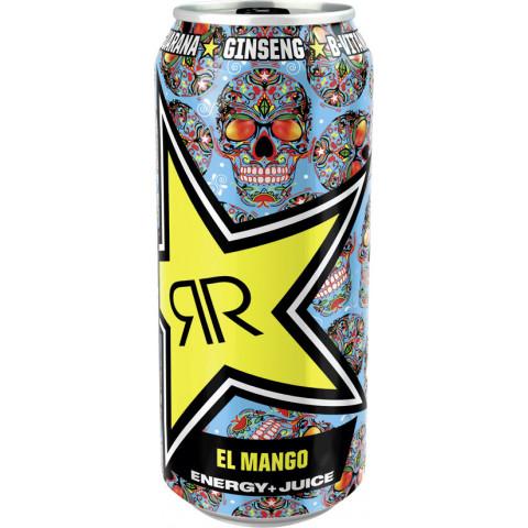 Rockstar Energydrink Baja Juiced El Mango 0,5L