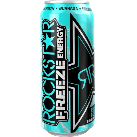 Rockstar Freeze Pineapple & Coconut Energydrink 0,5 ltr