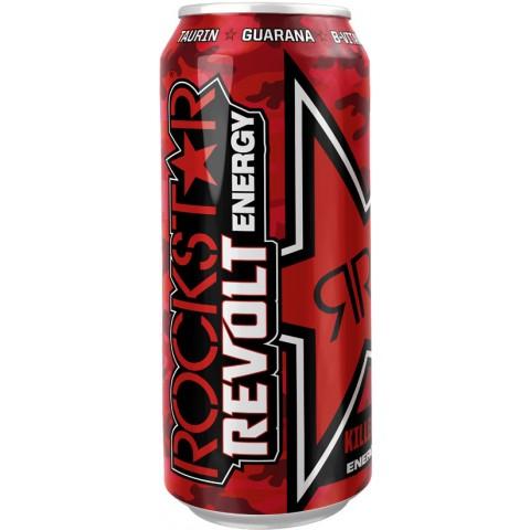 Rockstar Revolt Killer Cherry Energydrink 0,5 ltr