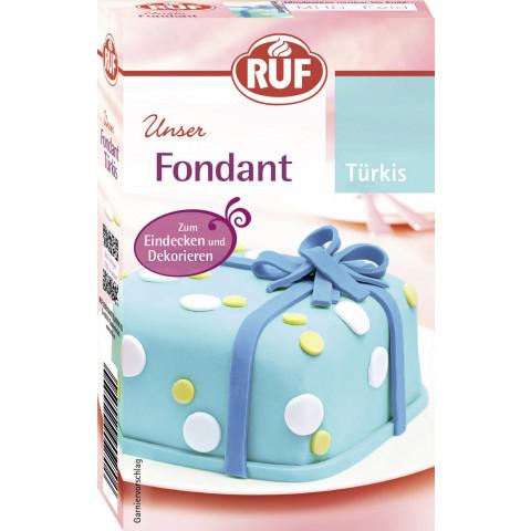 Ruf Fondant Türkis 250G