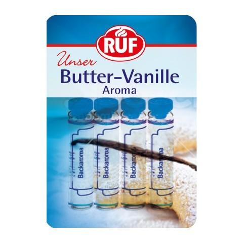 Ruf Butter-Vanille Aroma 4x 2 ml