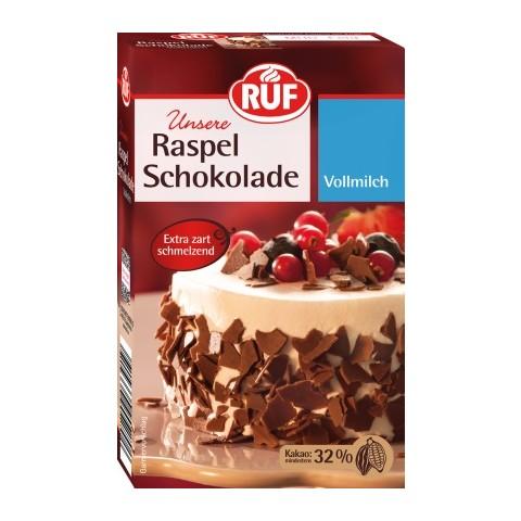Ruf Raspel Schokolade Vollmilch 100 g