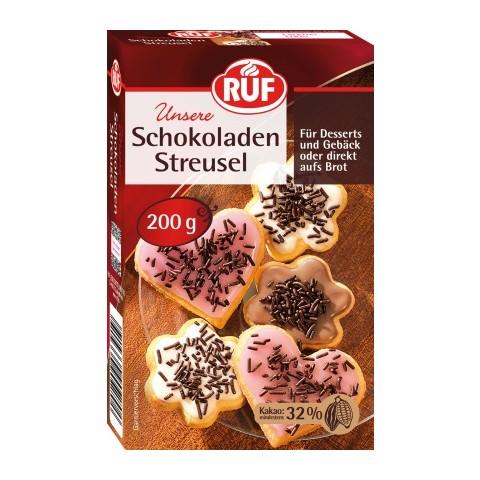 Ruf Schokoladen Streusel 200 g