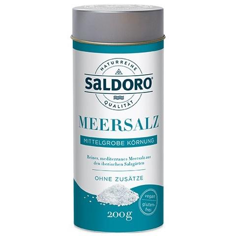 Saldoro Meersalz Mittelgrobe Körnung
