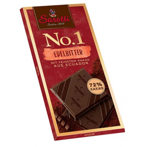 Sarotti No.1 Edelbitter 72% Kakao 100 g