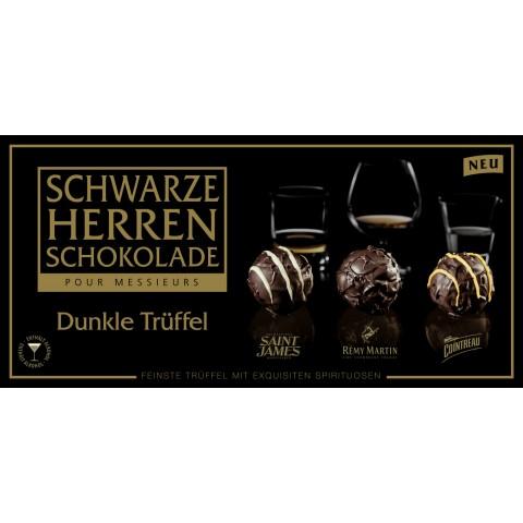 Sarotti Schwarze Herren Schokolade Dunkle Trüffel 125 g