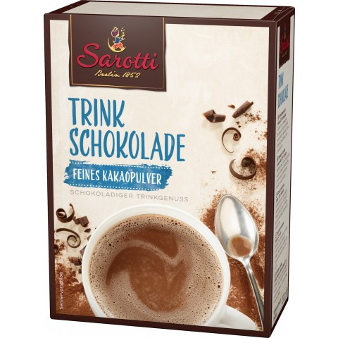 Sarotti Trinkschokolade Feines Kakaopulver 250g
