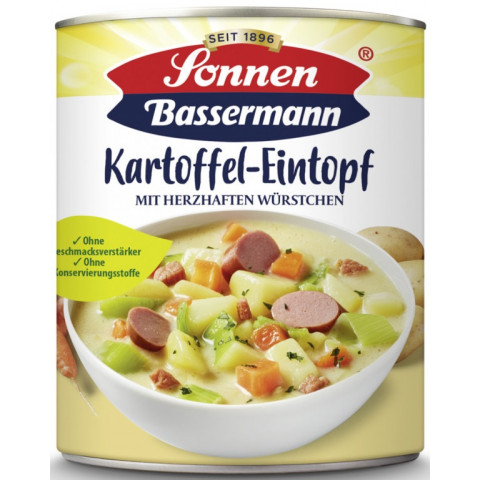 Sonnen Bassermann Kartoffeleintopf mit Würstchen
