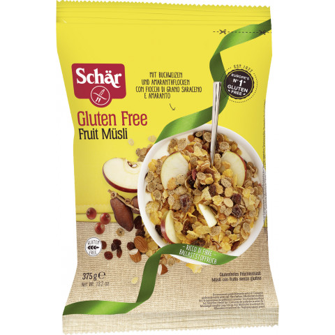 Schär Fruit Müsli glutenfrei 375g