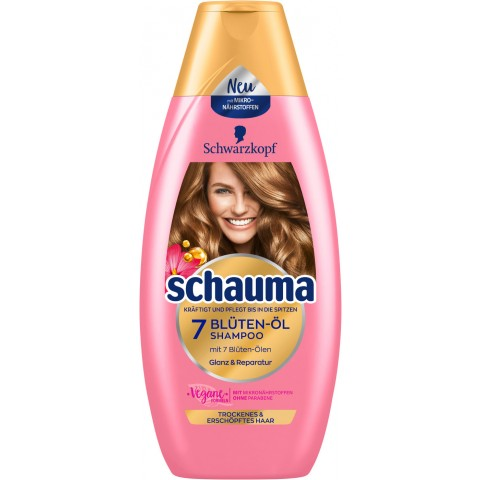 Schwarzkopf Schauma 7-Blüten & Öl Shampoo 400 ml