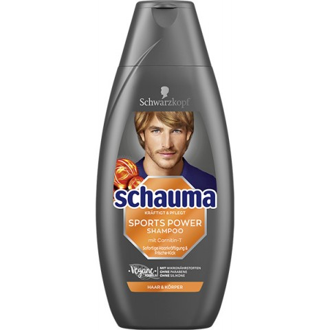 Schwarzkopf Schauma Sports Power Shampoo 400 ml