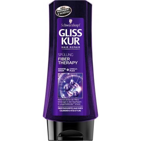 Schwarzkopf Gliss Kur Fiber Therapy Spülung