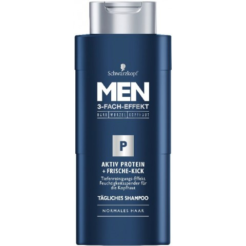 Schwarzkopf Shampoo Men Aktiv Protein + Frische-Kick