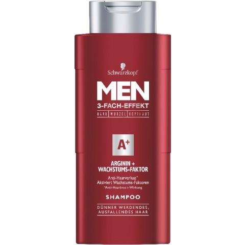 Schwarzkopf Shampoo Men Arginin + Wachstums-Faktor