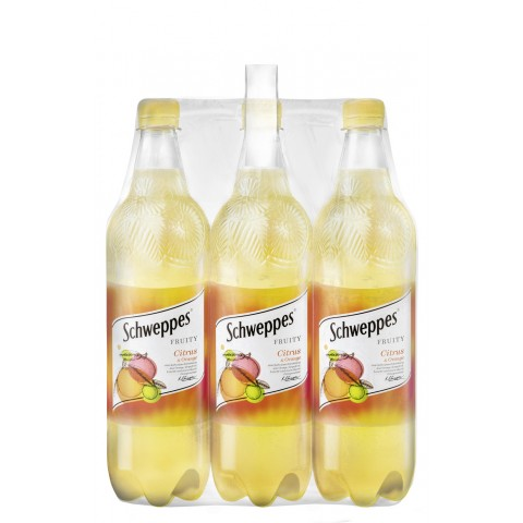 Schweppes Fruity Citrus & Orange 6x 1 ltr