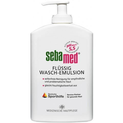 Sebamed Wasch-Emulsion flüssig Spenderflasche 0,4 ltr