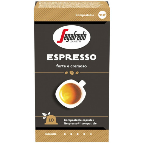 Segafredo Espresso Kaffeekapseln 10x 5,1 g