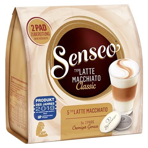 Senseo Kaffeepads Latte Macchiato Classic 5ST 100g