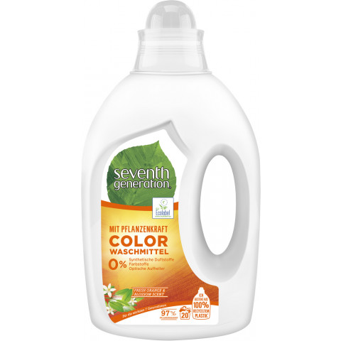 Seventh Generation Color Waschmittel Fresh Orange & Blossom 1L 20WL