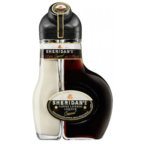 Sheridans Coffee Layered Liqueur Original 0,5 ltr
