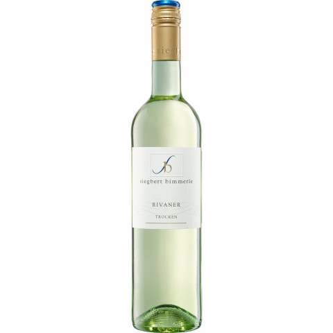 Siegbert Bimmerle Rivaner Weißwein trocken 0,75 ltr