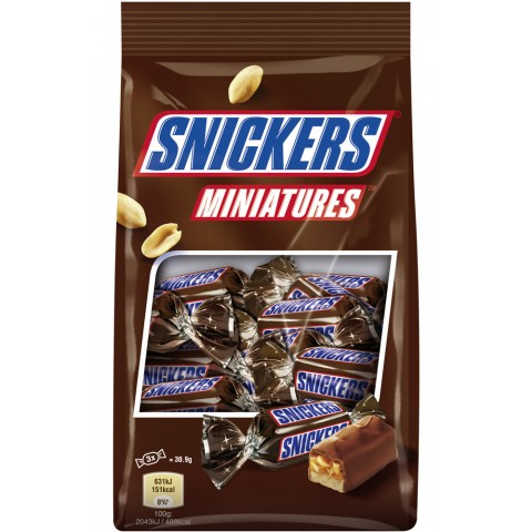 Snickers Miniatures Schokoriegel