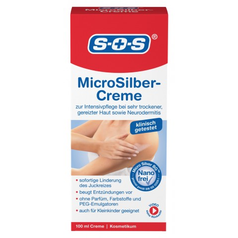 SOS MicroSilber-Creme 100 ml