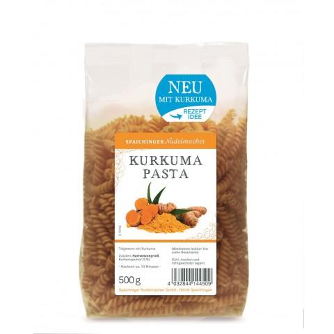 Spaichinger Nudelmacher Kurkuma Pasta Spiralen 500 g