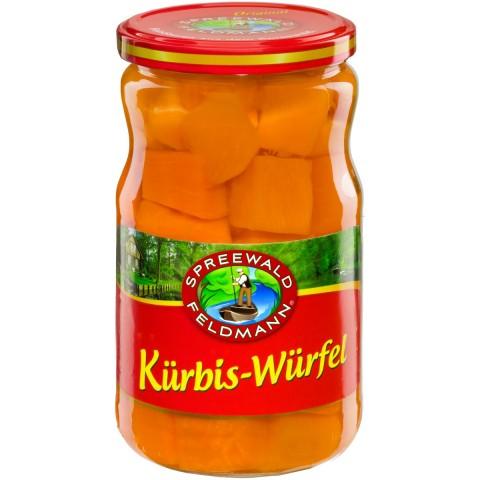 Spreewald Kürbis-Würfel