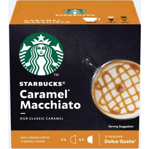 Starbucks Caramel Macchiato Kaffeekapseln 6ST 127,8G
