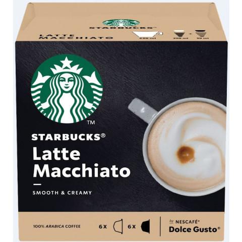 Starbucks Latte Macchiato 6x 16G + 5,5G