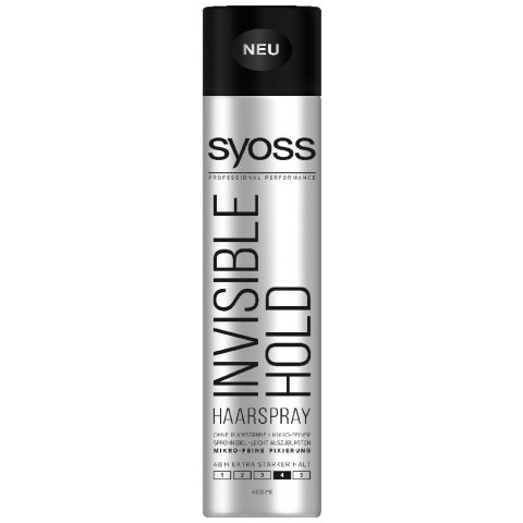 Syoss Haarspray Invisible Hold extra starker Halt