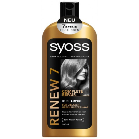 Syoss Renew 7 Complete Repair Shampoo
