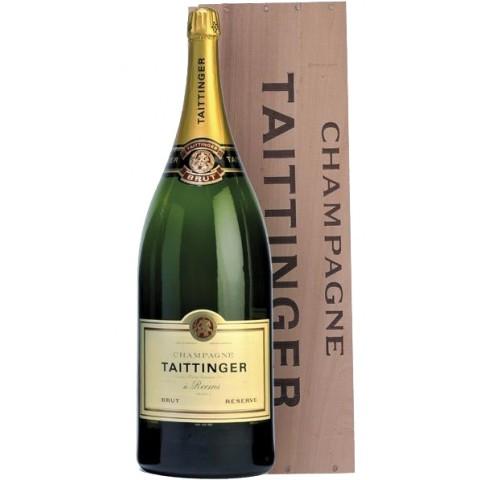 Taittinger Champagner Brut Reserve Salmanazar Flasche 9 Liter