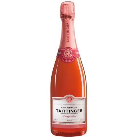 Taittinger Champagner Prestige Rosé Brut