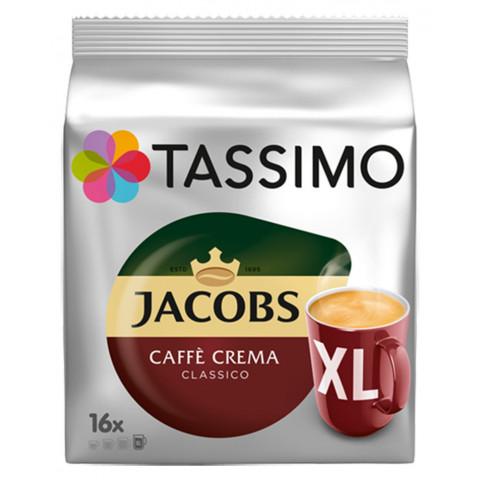 Tassimo Jacobs Caffè Crema Classico XL 16ST 132,8G