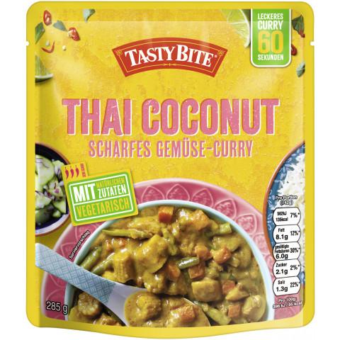 Tasty Bite Thai Coconut Scharfes Gemüse-Curry 285 g
