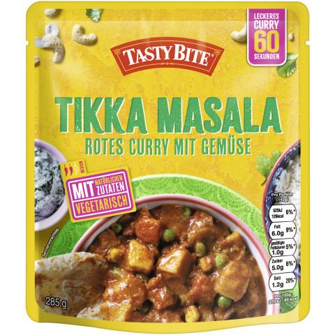 Tasty Bite Tikka Masala Rotes Curry mit Gemüse 285 g