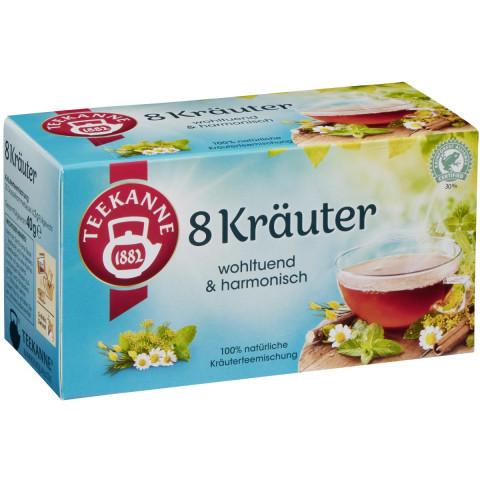 Teekanne 8 Kräuter 20x 2 g