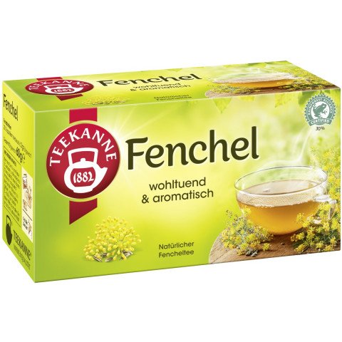 Teekanne Fenchel 20x 3 g