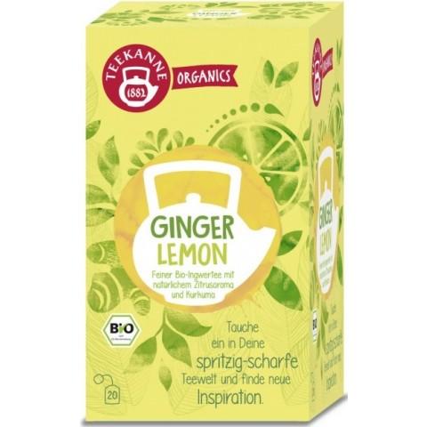 Teekanne Bio Organics Ginger Lemon 20ST 36G