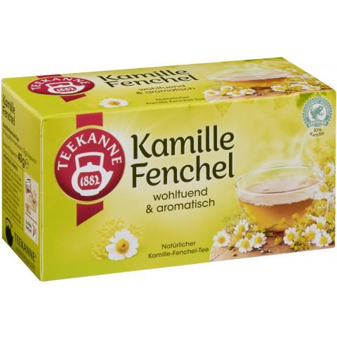 Teekanne Kamille-Fenchel 20x 2 g