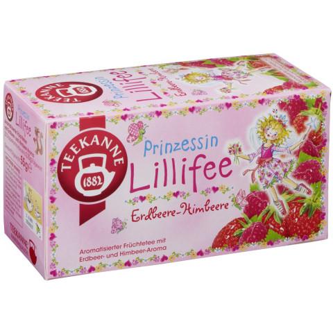 Teekanne Tee Prinzessin Lillifee Erdbeere-Himbeere 20x 2,75 g