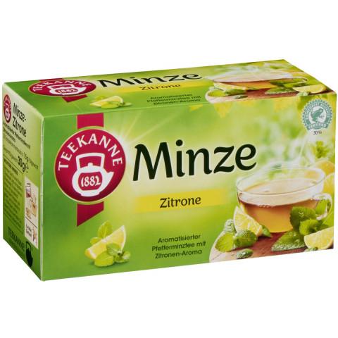 Teekanne Spritzige Minze Zitrone 20x 1,5 g